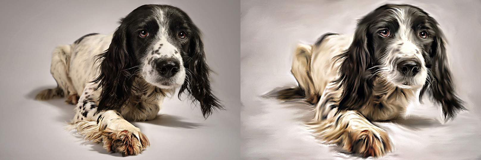 A digital painting can create a masterpiece out of a good photo.
